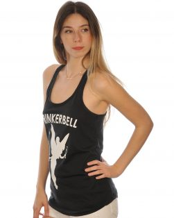 Womens drinkerbell funny tank top