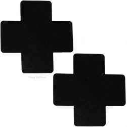 black x pasties