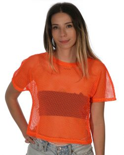mesh net rave shirt
