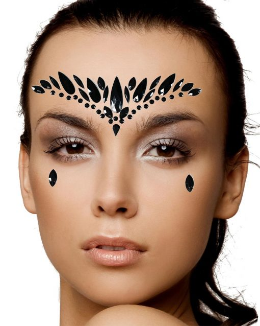 face crystal jewels